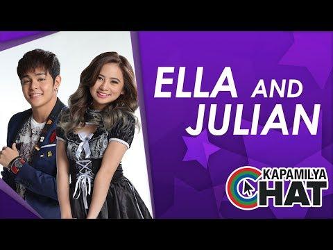 Kapamilya Chat with Ella Cruz and Julian Trono for Fan Girl Fan Boy