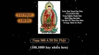 ❤Tán Phật A Di Đà Phát Nguyện Đảnh Lễ Cầu Vãng Sanh Về Cõi Cực Lạc❤ Thích Trí Thoát Có chữ để tụng❤