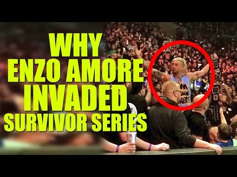 Real Reason Why Enzo Amore Invaded WWE Survivor Series 2018!
