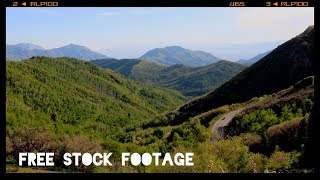 'GREEN MOUNTAIN LANDSCAPE' Free Stock Footage
