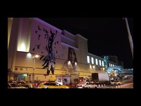 Курский Вокзал. Станция Курская. Полночь 13-14 марта 2019. Прошло Два Года...