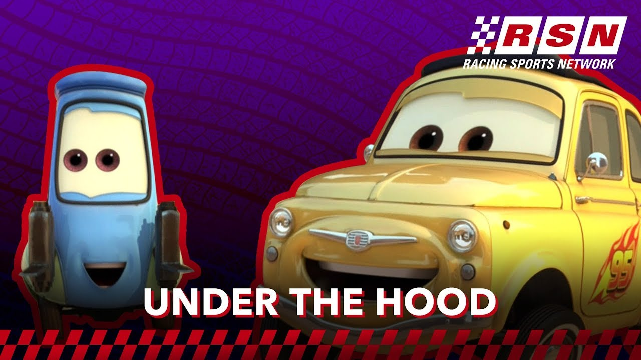 Under The Hood Guido Luigi Racing Sports Network By Disney