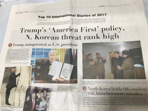 Japan's Top International News Stories for 2017