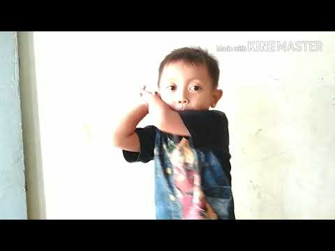 Video anak kecil nyanyi lagu sayang via vallen