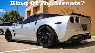 We Take A Mustang GT to Gapplebees with @Street Speed 717 C6 ZR1!