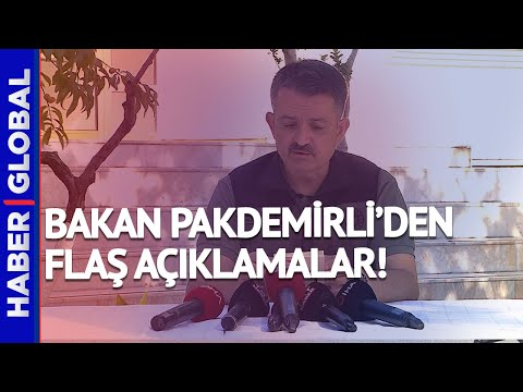Türkiye Neden Yangın Söndürme Uçağı Satın Almıyor? Bakan Açıkladı