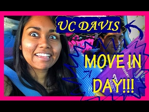 COLLEGE MOVE IN DAY!!! | UC Davis