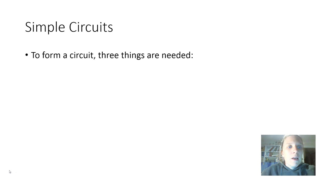 Basic Parts Of A Simple Circuit Youtube
