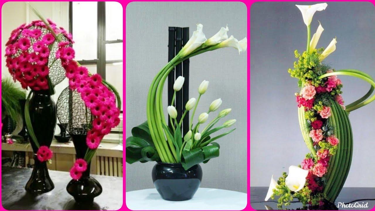 Unique Flower Arrangement Ideas For Home Decore Youtube