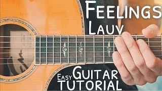 Feelings Lauv Guitar Tutorial // Feelings Guitar // Guitar Lesson #738