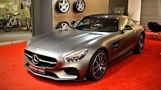 Mercedes GTS AMG 2014, Mercedes GT S AMG 2015, Showroom bei Mercedes Ulm, Review Test, Mercedes C190