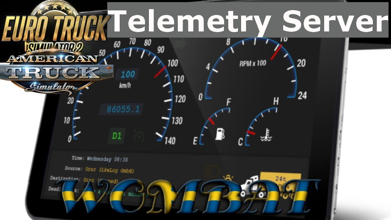 ETS2 and ATS - How to add your dashboard to a secondary