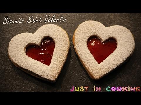 ♡ Recette de Biscuits à la Confiture pour la Saint-Valentin ♡