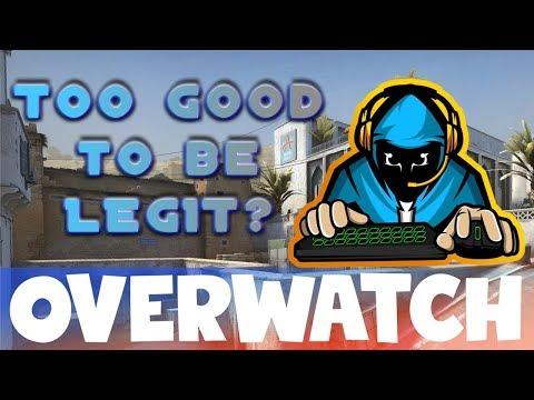 Too Good To Be LEGIT? CS:GO OVERWATCH