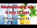 Detox water for glowing skin and weight loss Ayurvedic tips