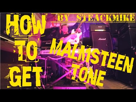 How To Get Yngwie Malmsteen Tone (Steackmike)