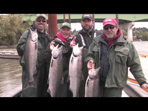 Willamette River Chinook & Potholes Reservoir Walleye