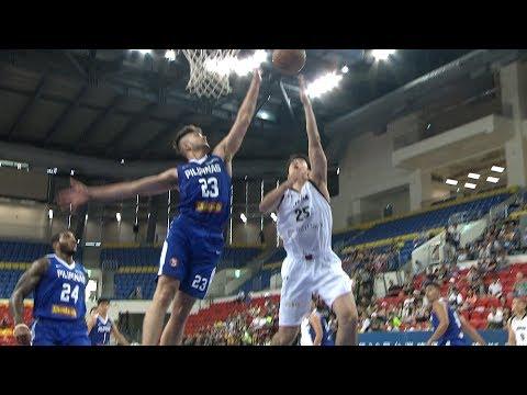 Kobe Paras with a GREAT Block On Gen Hiraiwa! (VIDEO) Jones Cup 2017