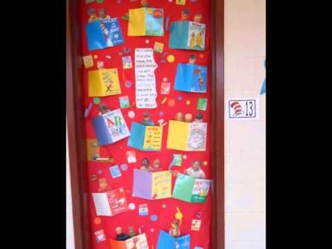 Dr. Seuss Door Contest  sc 1 st  YouTube & Dr. Seuss Door Contest - YouTube