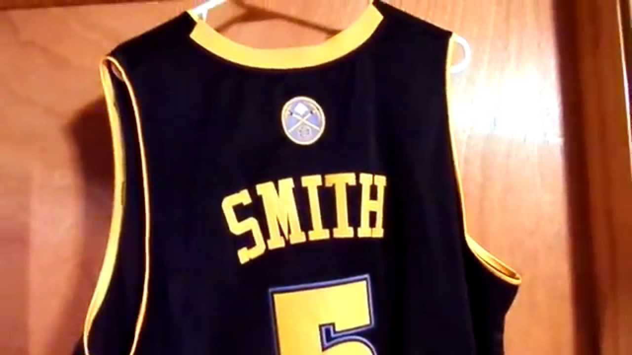 new arrival 4a59f add34 J.R. Smith Denver Nuggets Authentic ALT Road Jersey Review