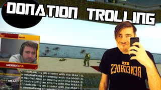 donation trolling cs go pro chad spunj burchill