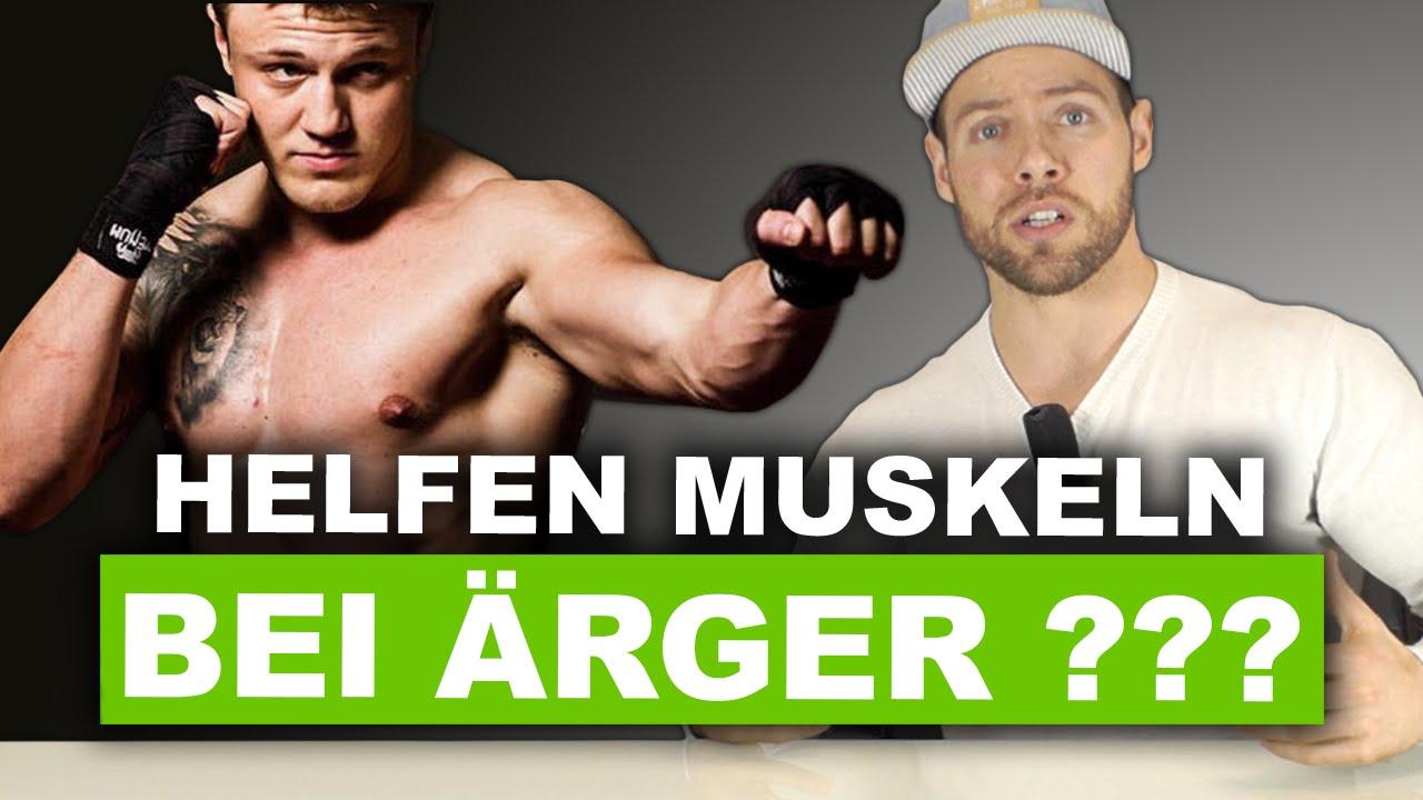 Helfen Muskeln bei einer Schlägerei? - YouTube