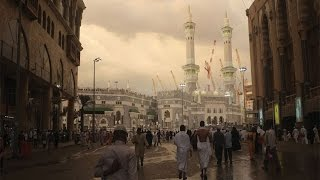 STREET OF MAKKAH GOING TO HARAM SHARIF l MASID AL HARAM SHARIF