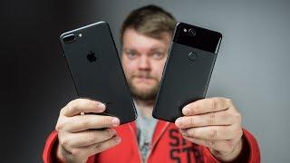 БИТВА КАМЕР: Google Pixel 2 против iPhone 8 Plus!