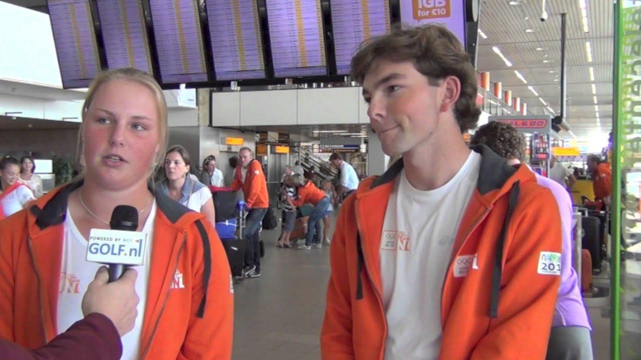 d20d3eccdba Marit Harryvan en Lars Keunen op weg naar de Jeugd Olympische Spelen ...