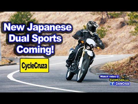 Japan Testing New Hardcore Dual Sport Motorcycles | MotoVlog