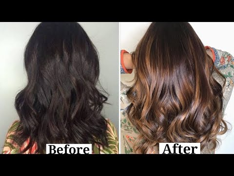 how-to-highlight-your-hair-at-home-using-loreal-hair-excellence-fashion-highlights...review+demo