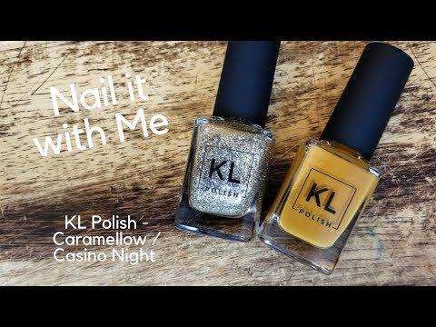Nail it with Me #10   KL Polish - Caramello / Casino Night