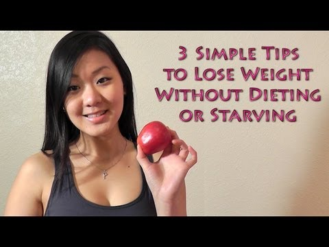 How to Lose Weight Fast Without Dieting – 3 Simple Tips