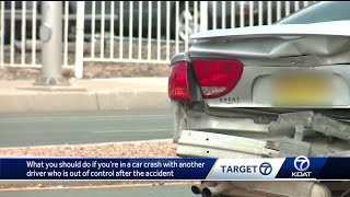Targeting your safety: Dealing with irate people during car accidents