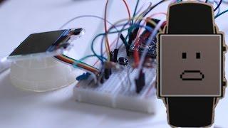جعل الخاصة بك Smartwatch من الهاتف الخليوي القديمة (الجزء 2)