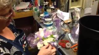 How to make a hand tied bouquet