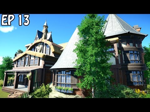 Fantasy Guild Hall | Planet Coaster | Decorative Structure