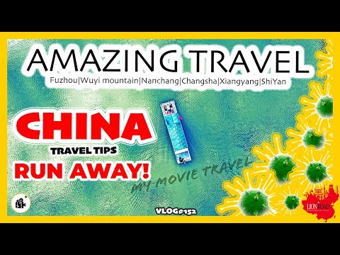 Amazing Travel in China on the road | Escaped from Coronavirus| Fujian to Hubei