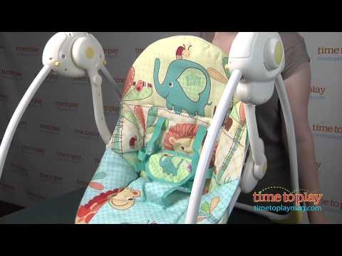 Bright Starts Sunnyside Safari Portable Swing from Kids II