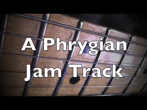 ♫ A Minor Phrygian Mode Groove Backing Track ♫