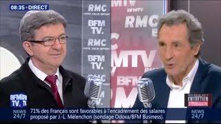 JEAN-LUC MÉLENCHON INVITÉ DE BOURDIN DIRECT - #BourdinDirect