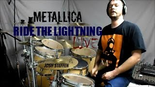 METALLICA - Ride the Lightning (live) - drum cover