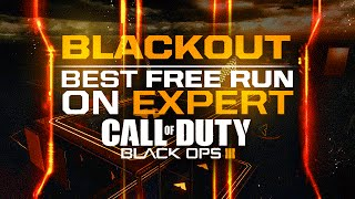 BLACK OPS 3 - FREE RUN - BEST TIME ON EXPERT BLACKOUT