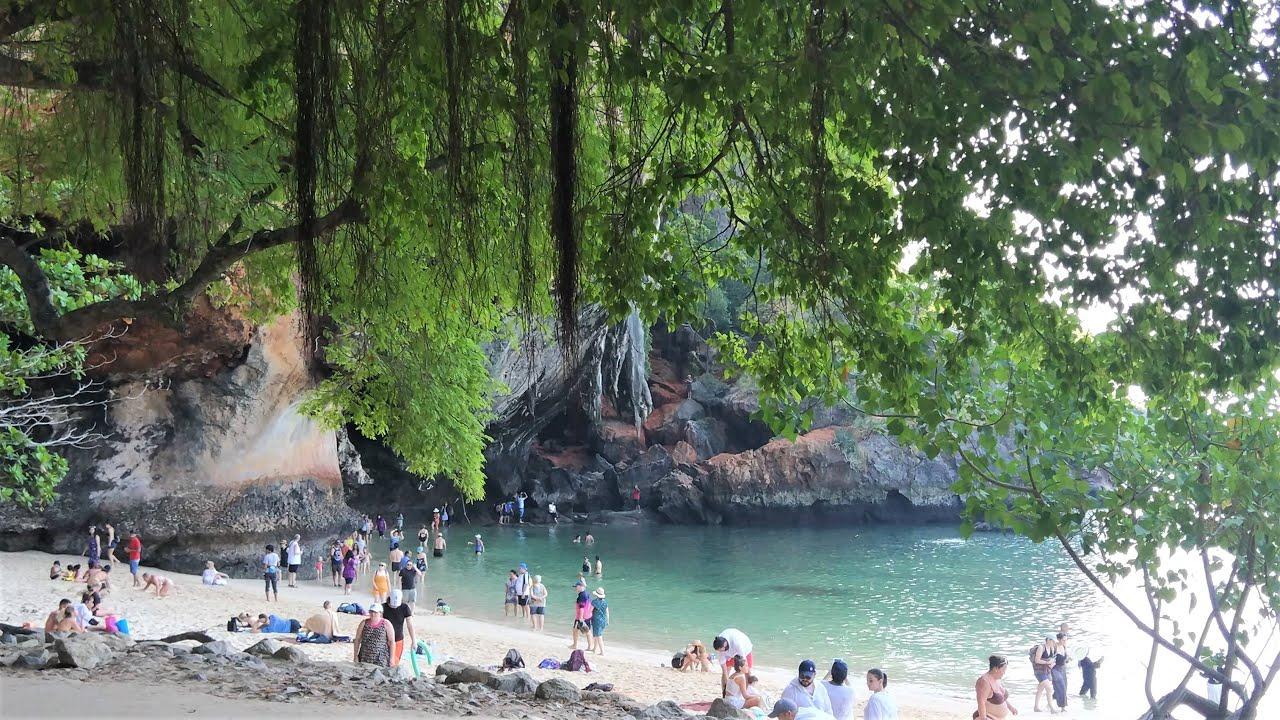 Railay's Exotic Phranang Beach in Thailand