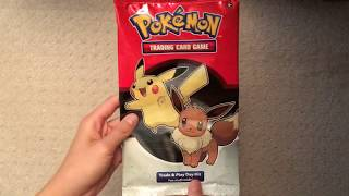 Pokemon Gamestop Trade And Play Event 2019 Free Oversized Booster Pack Opening