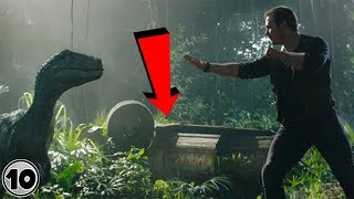 Top 10 Easter Eggs You Missed In Jurassic World Fallen Kingdom