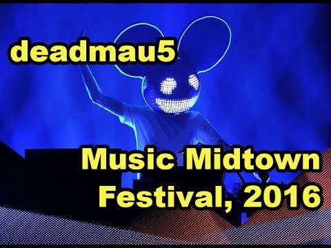 deadmau5 @ Music Midtown Festival 2016