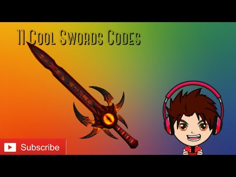 Roblox Gear Code For Rainbow Sword This All The Sword Codes In Kohls Admin House In Roblox Youtube