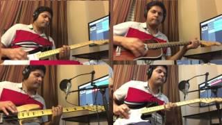 Woh Ladki Jo Sab Say Alag Hai -Guitar Cover - Anand Chauhan