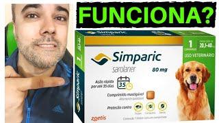 COMO ACABAR COM PULGAS E CARRAPATOS ➡️ TESTADO NA PRÁTICA!!! Simparic funciona?